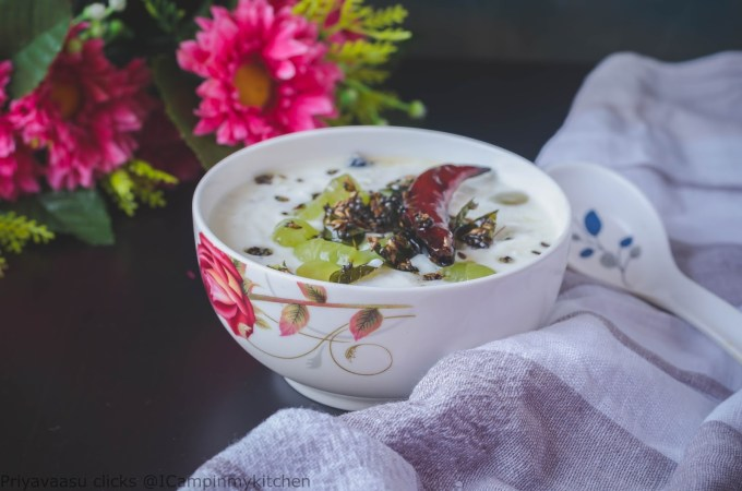 Grapes raita