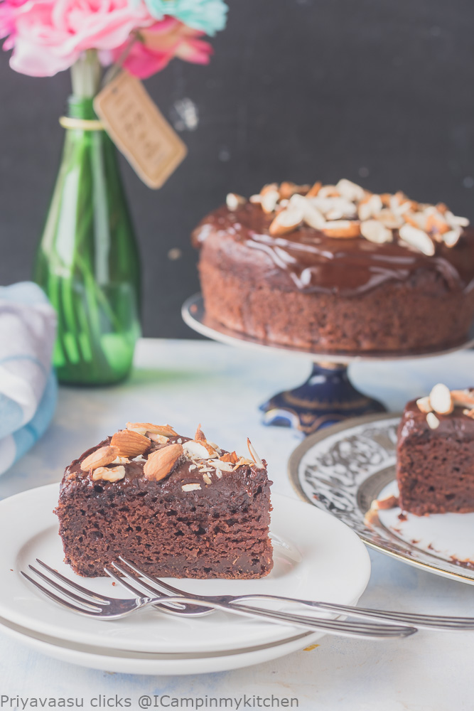 Sweet potato chocolate cake