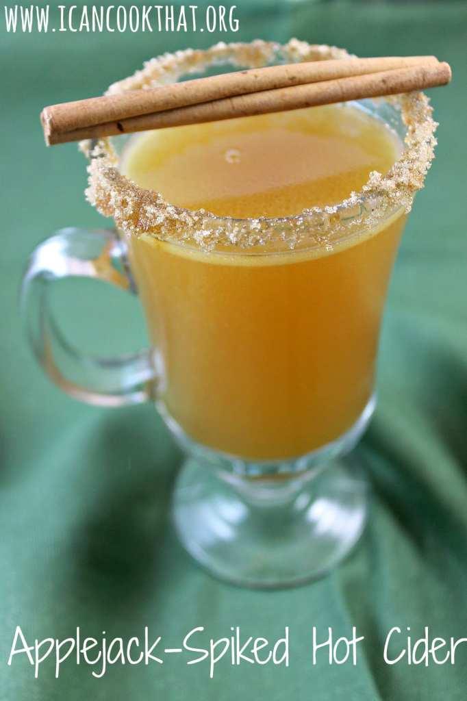 Applejack-Spiked Hot Cider
