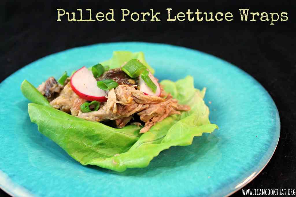 Pulled Pork Lettuce Wraps