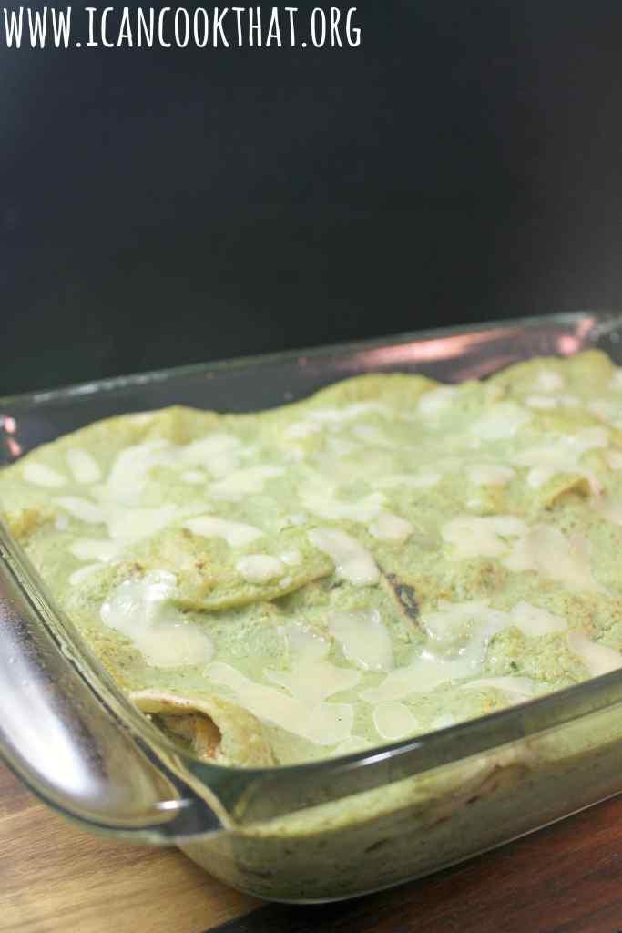 Chicken Chilaquiles Casserole