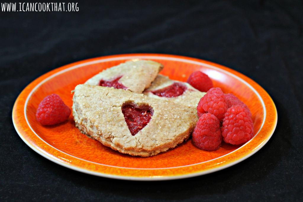 Raspberry Pocket Cookies