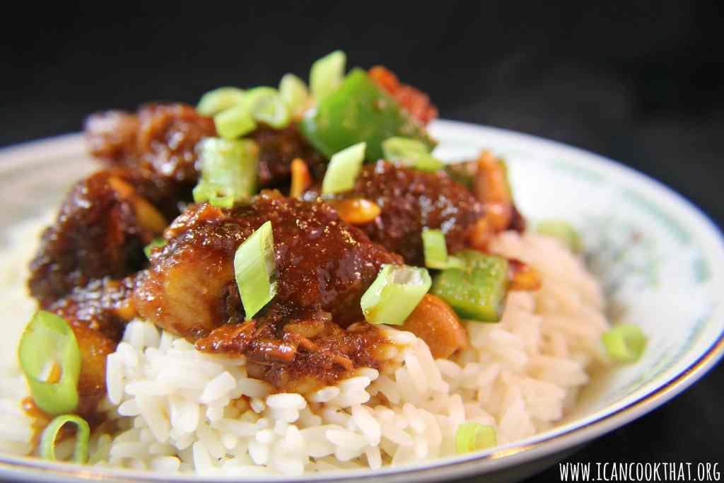 Slow Cooker Cashew Chicken