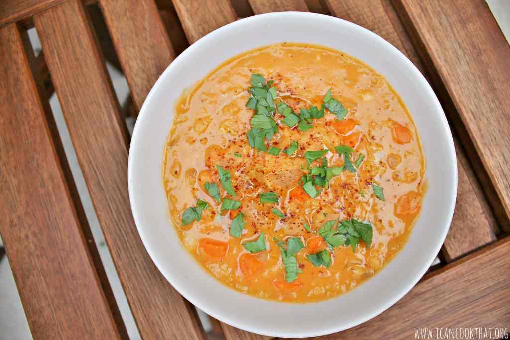 Lemony Red Lentil Soup
