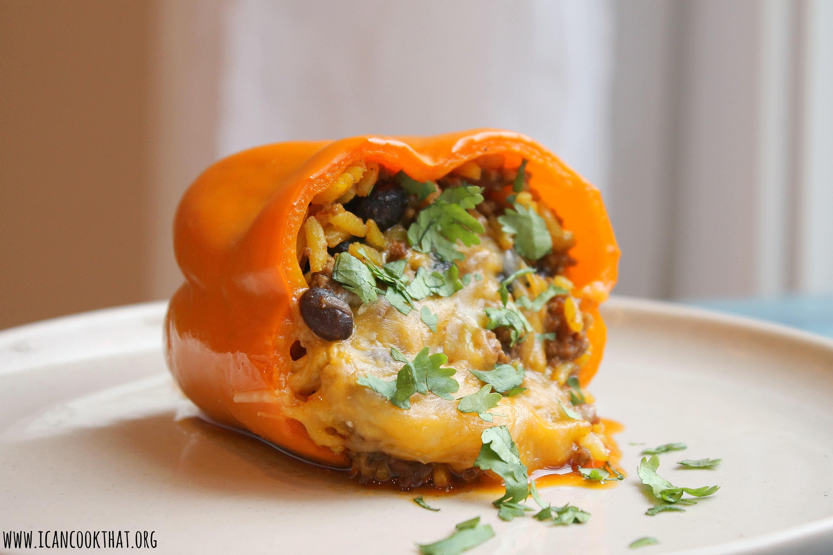 Tex-Mex Stuffed Peppers