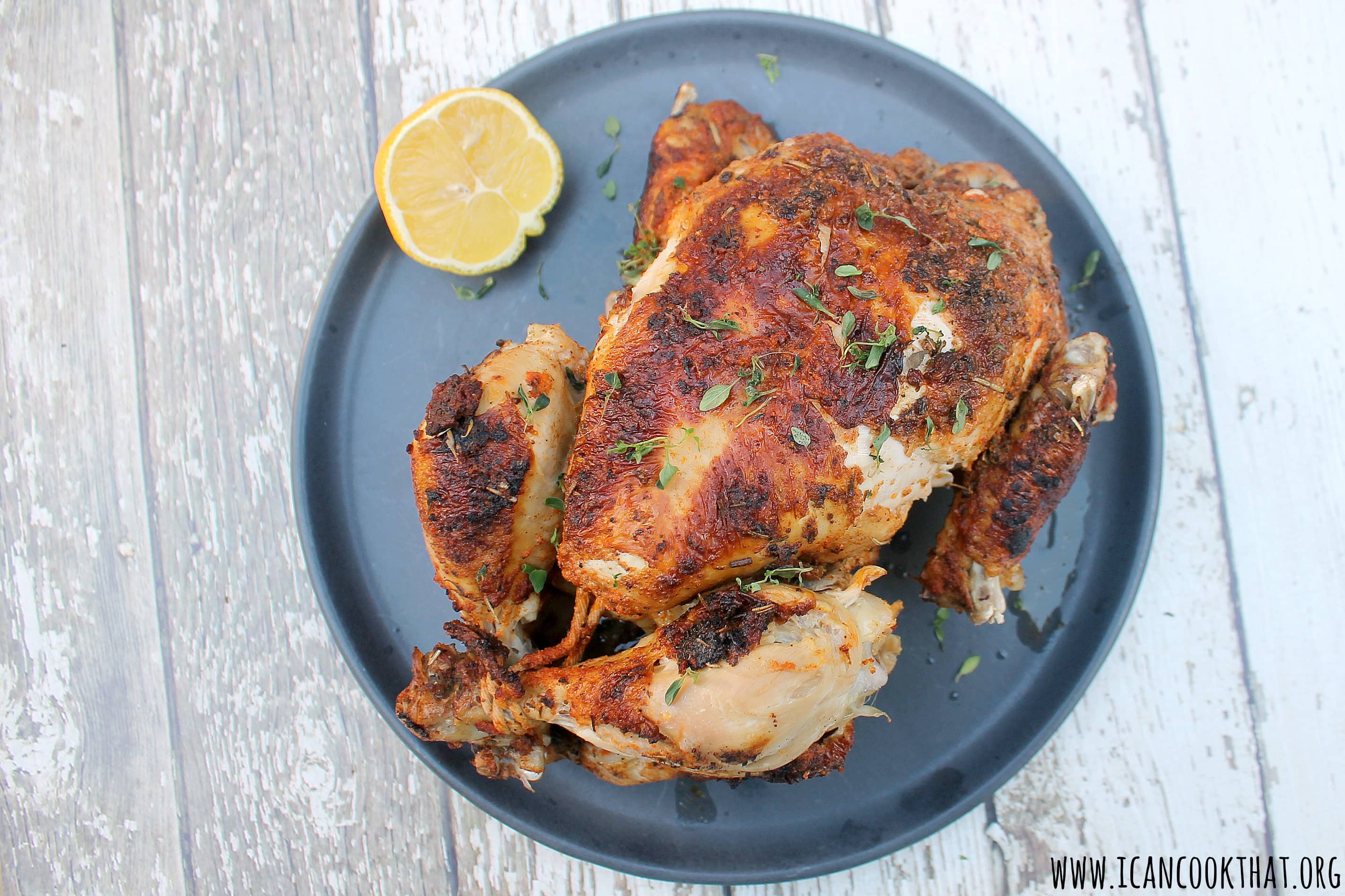 Pressure Cooker Whole Chicken