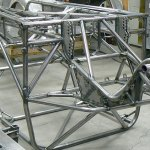 drag car chassis fabrication