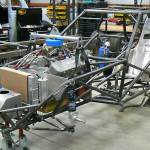 S&W chassis in chevy vega drag car