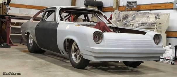 Vega hatchback bracket car
