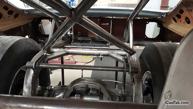 S&W Race Chassis Custom Install - Metal Fabrication | TIG Welding