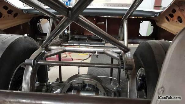 vega hatchback drag car