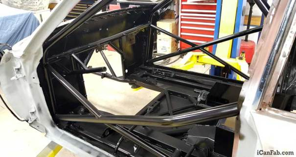 vega hatchback - chassis fabrication completed