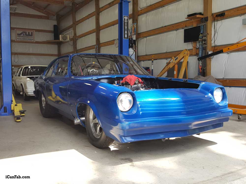 Chevy Vega Projects For Sale - Metal Fabrication | TIG Welding