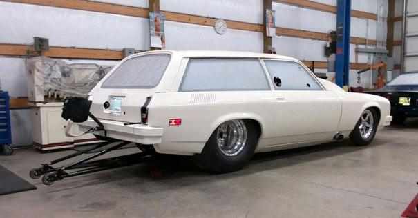 1977 vega wagon NHRA 6.0 cert