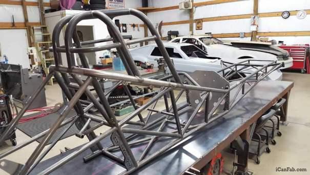 nostalgia funny car chassis