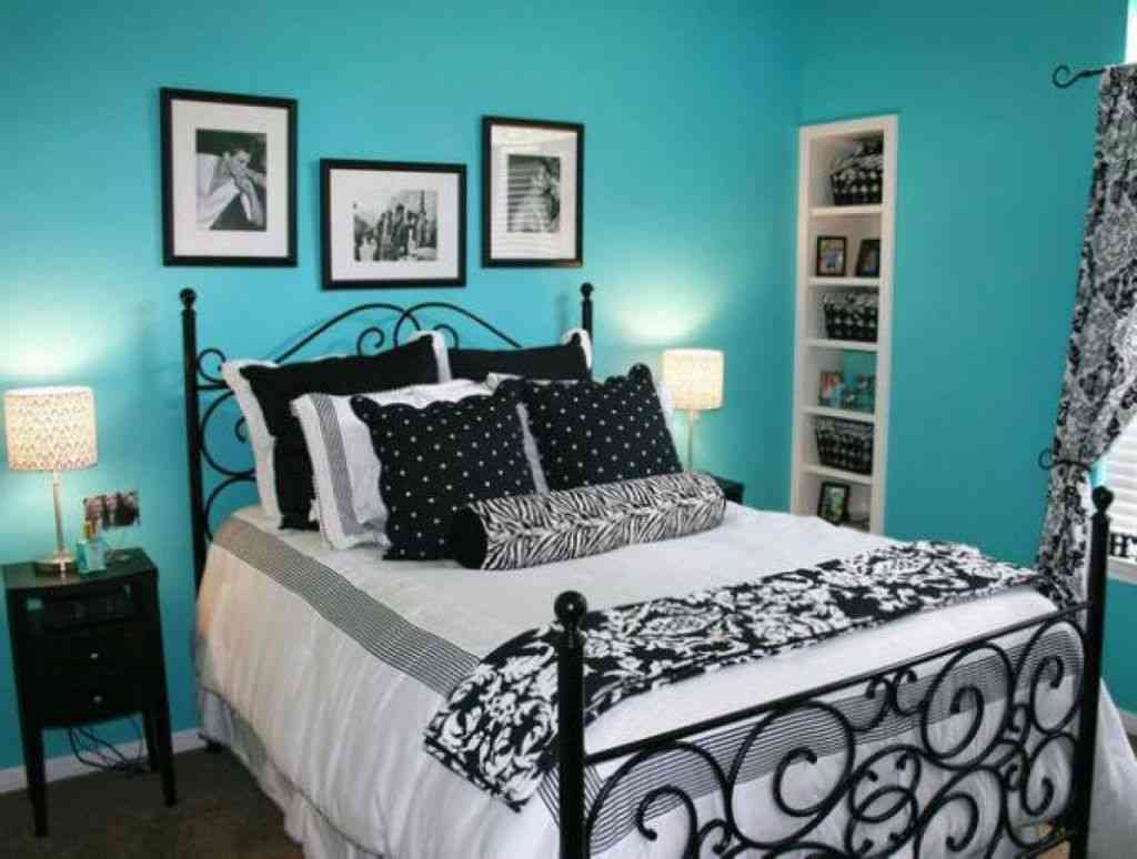 Make bedrooms in your home beautiful with bedroom decorating ideas from hgtv for bedding, bedroom décor, headboards, color schemes, and more. Black White and Teal Bedroom - Decor Ideas