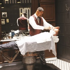 Old School Barber Chair High Back Outdoor Covers Straight Razor Shave Archives Christie Moeller