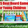 Awesome Board Games For 3 4 Year Olds To Play