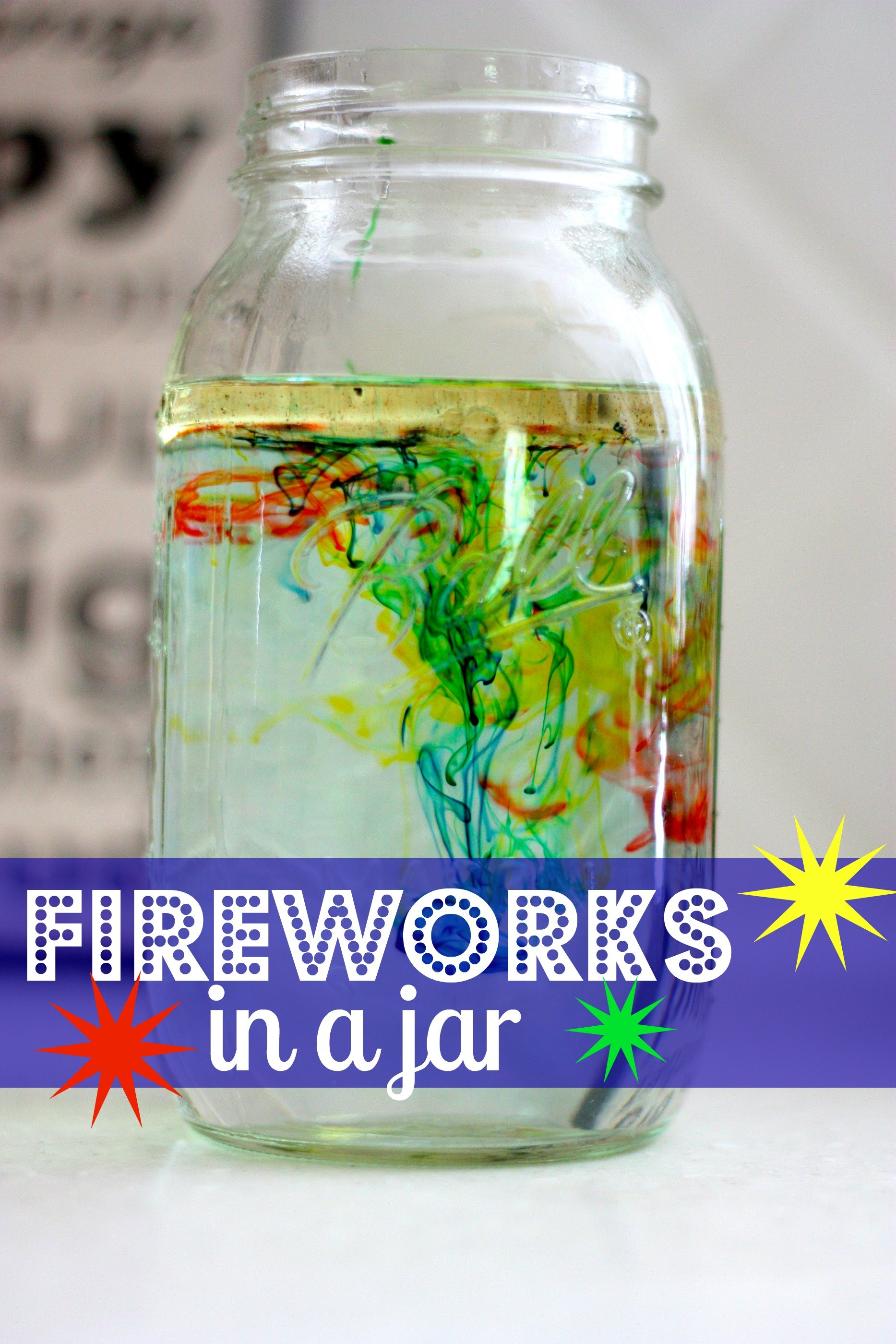 Fireworks In A Jar