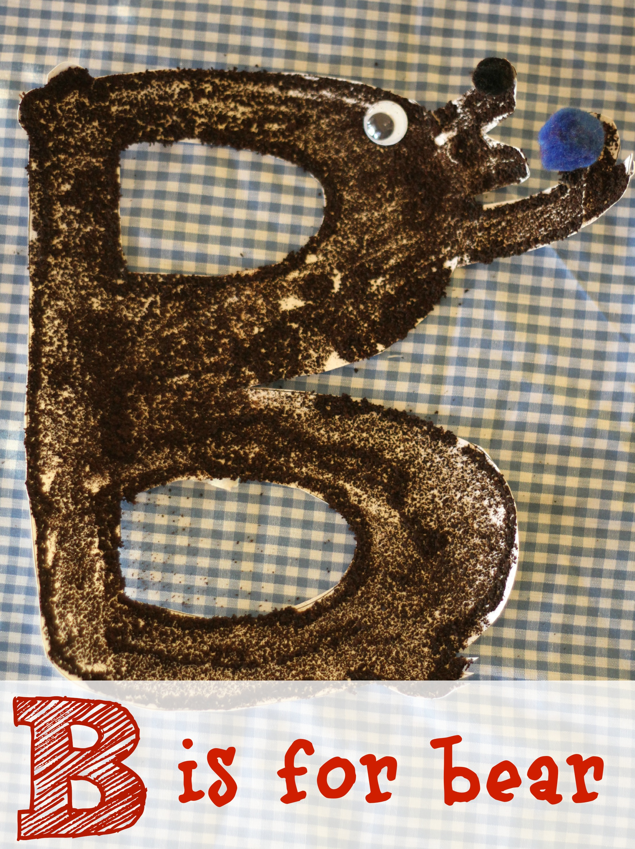 Alphabet Craft B Is For Bear