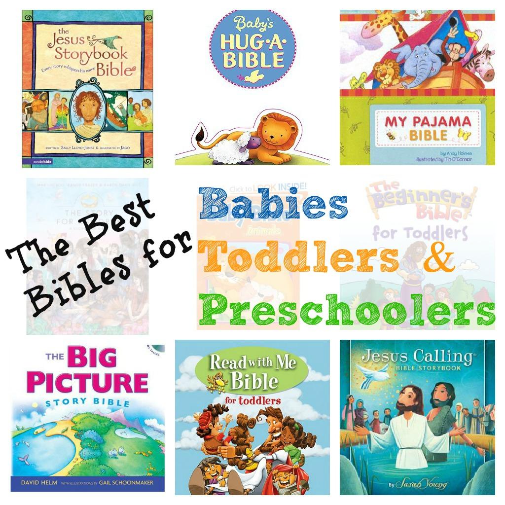 Best Children S Bibles For Babies To Preschoolers