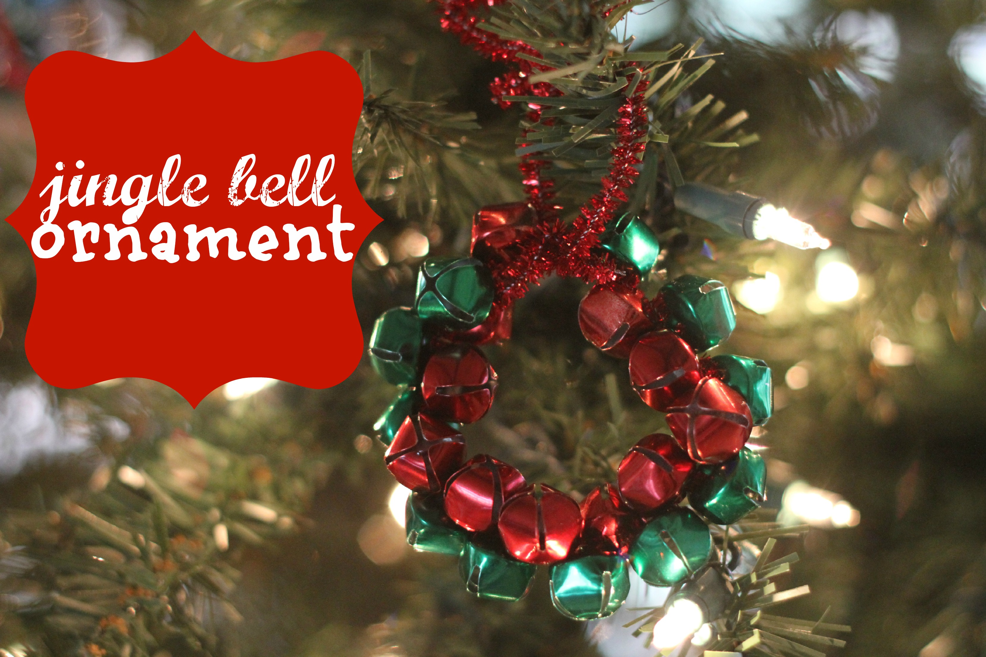Jingle Bell Wreath Ornament I Can Teach My Child