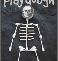 learn about the skeletal system with x ray playdough  [ 712 x 1212 Pixel ]