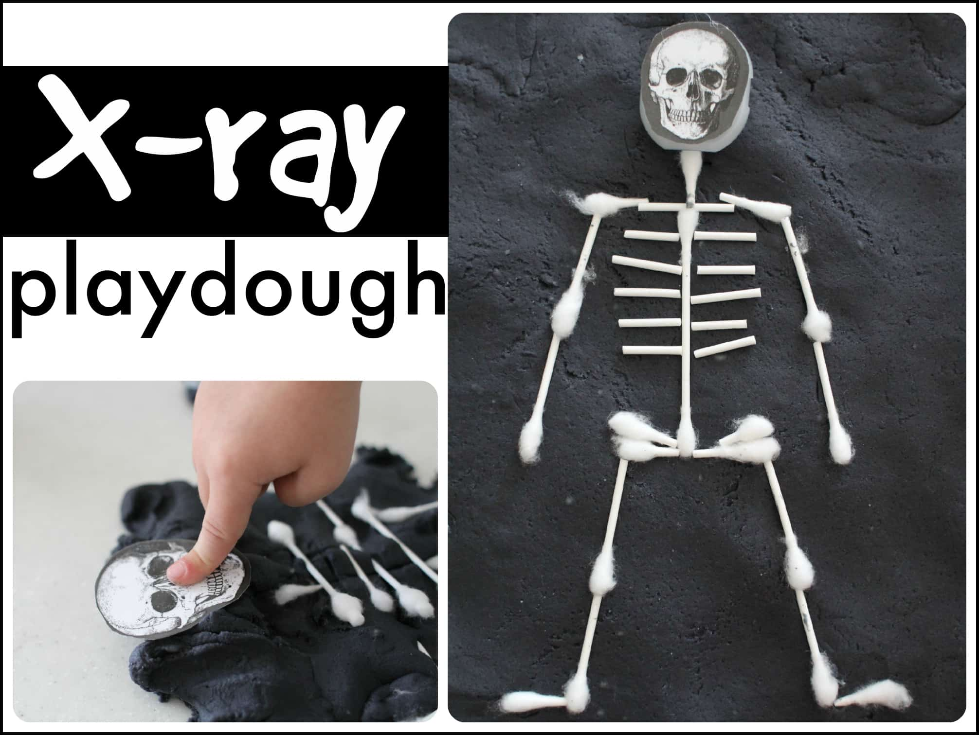 X Ray Playdough