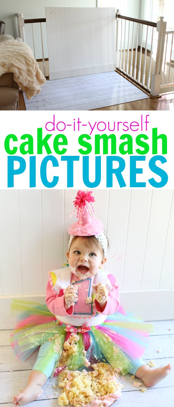 Take Your Own Professional Looking Cake Smash Pictures At