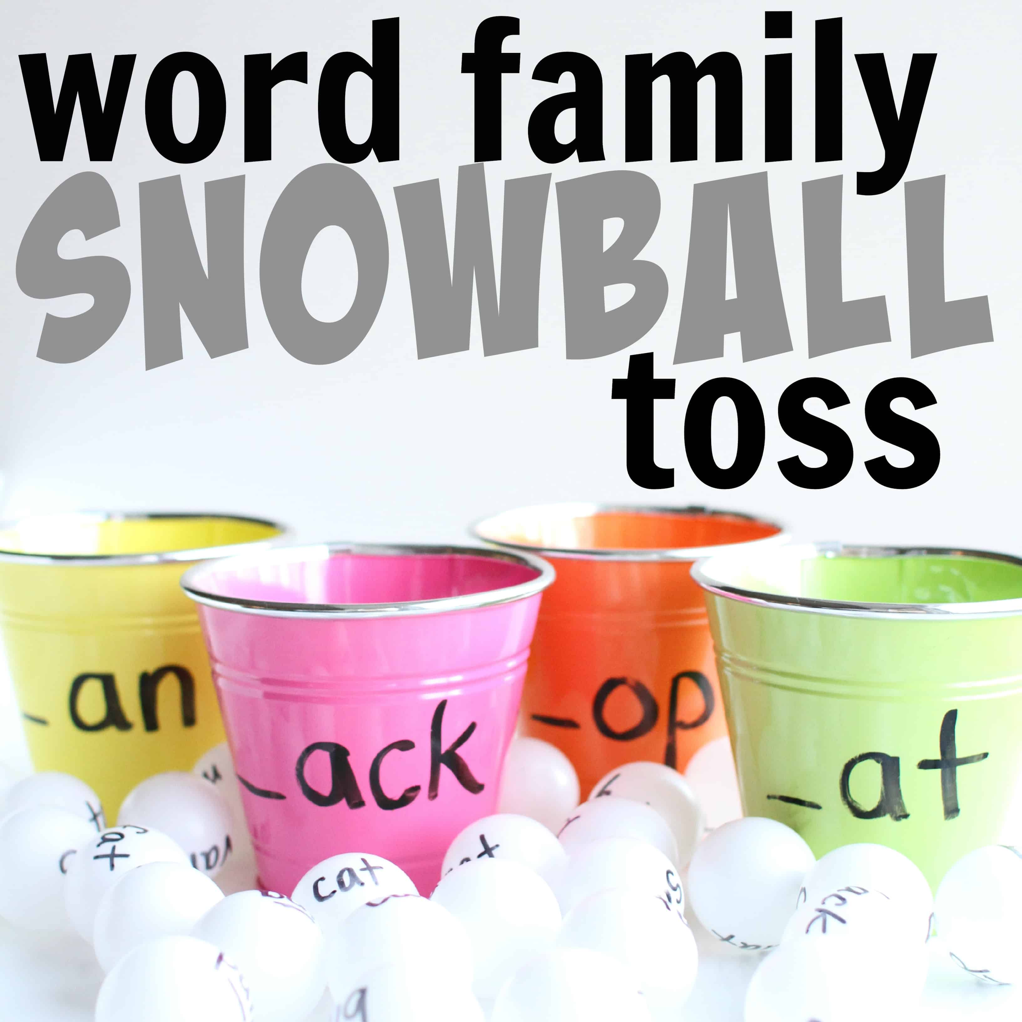 Hop On Pop Word Family Worksheet