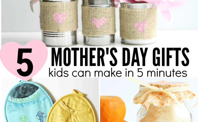 5 Mother S Day Gifts Preschoolers Can Make I Can Teach