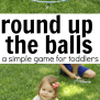 Round Up The Balls Game For Toddlers I Can Teach My Child