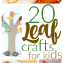 20 Fun Fall Kids Crafts With Leaves I Can Teach My Child