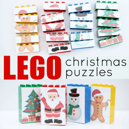 DUPLO Christmas Puzzles from I Can Teach my Child