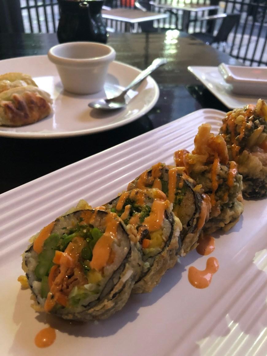 Typhoon Asian Bistro Hot Vegan Sushi