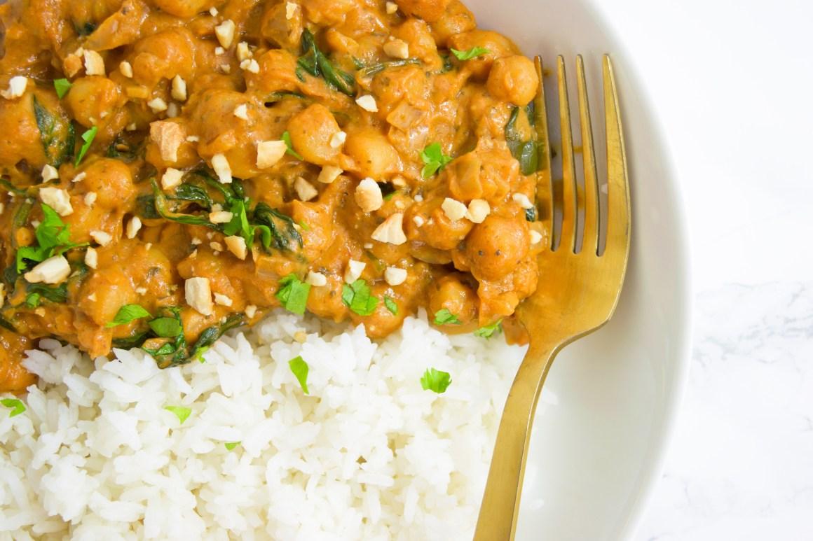 Chickpea Peanut Stew