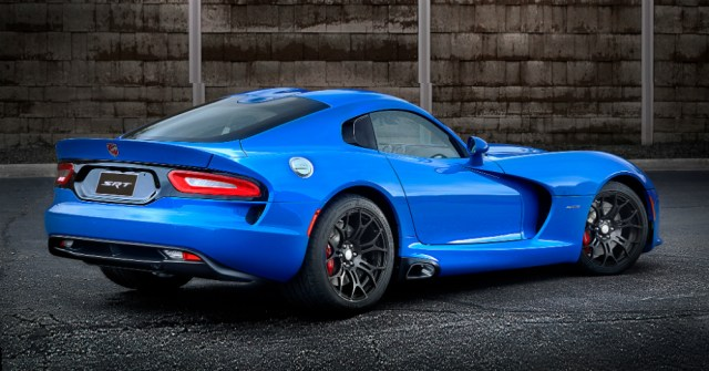 2015 Dodge Viper SRT Blue