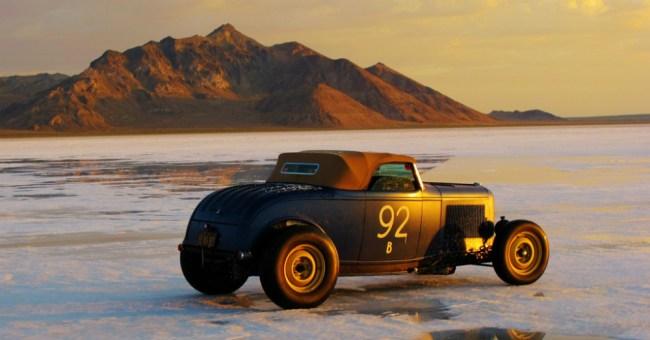 Bonneville Salt Flats racing