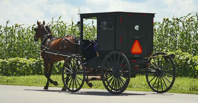 There's more technology in Amish Country than you think.