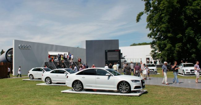 Audi is All Over Goodwood