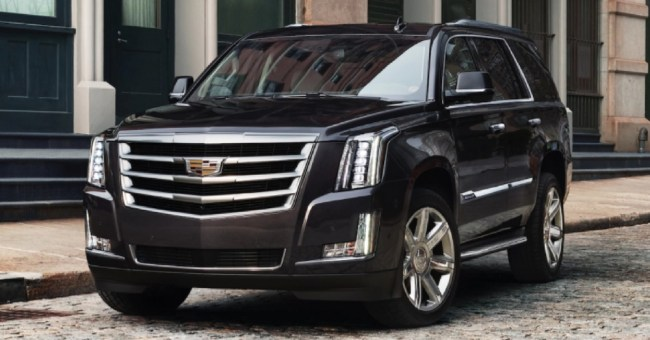 2018 Cadillac Escalade: Big Style and Big Luxury