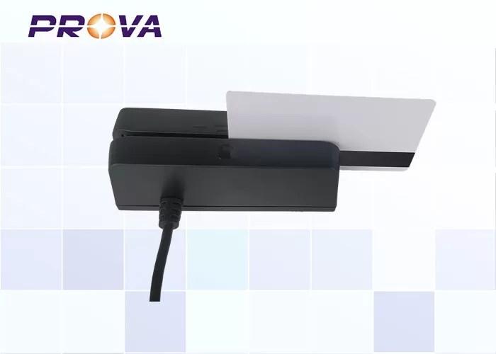 RS232 Magnetic Card reader / Magnetic Slot Reader for Driver License Card - F770