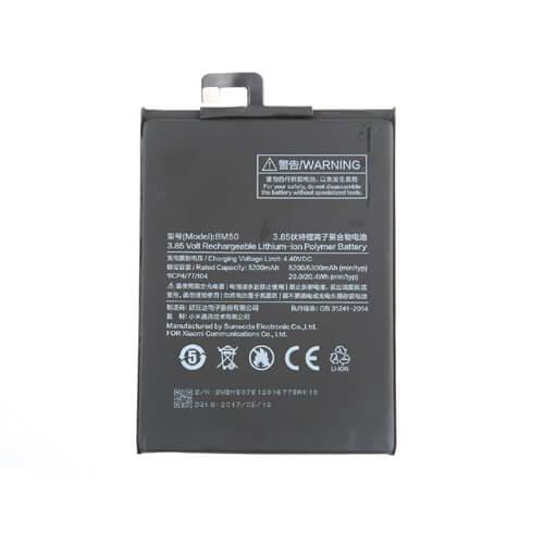 Original Xiaomi Mi Max 2 Battery Replacment 5300mAh BM50