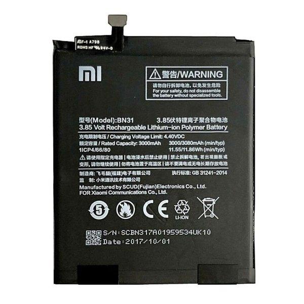 Original Xiaomi Redmi Y1 Lite Battery Replacment BN31
