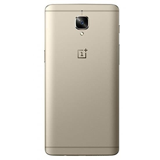 OnePlus 3T Back Panel Replacement in India Chennai Battery Cover Gold
