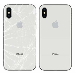 Apple iPhone X Back Glass Replacement Repair Service in India Chennai