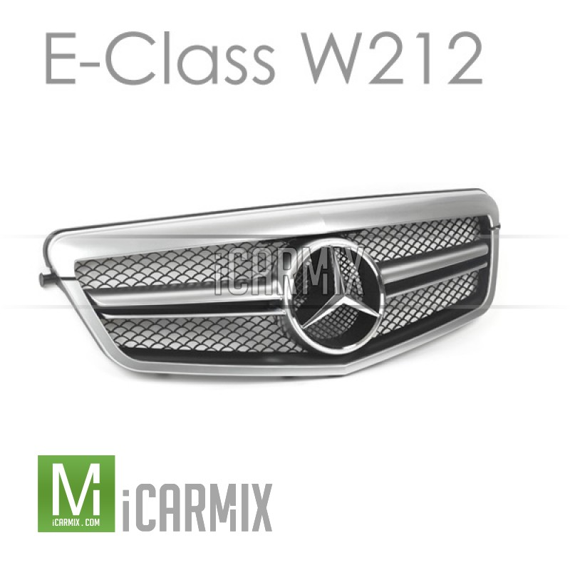 EURSPEC Front Grille For Mercedes-Benz E-Class W212 (Style