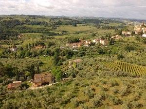 Panorama I Casalini Bauernhaus in der Toskana