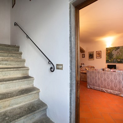 Access to the upper floor