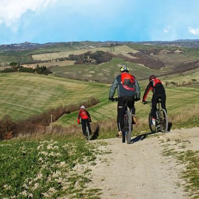 Location de vèlo I Casalini agritourisme en Toscane